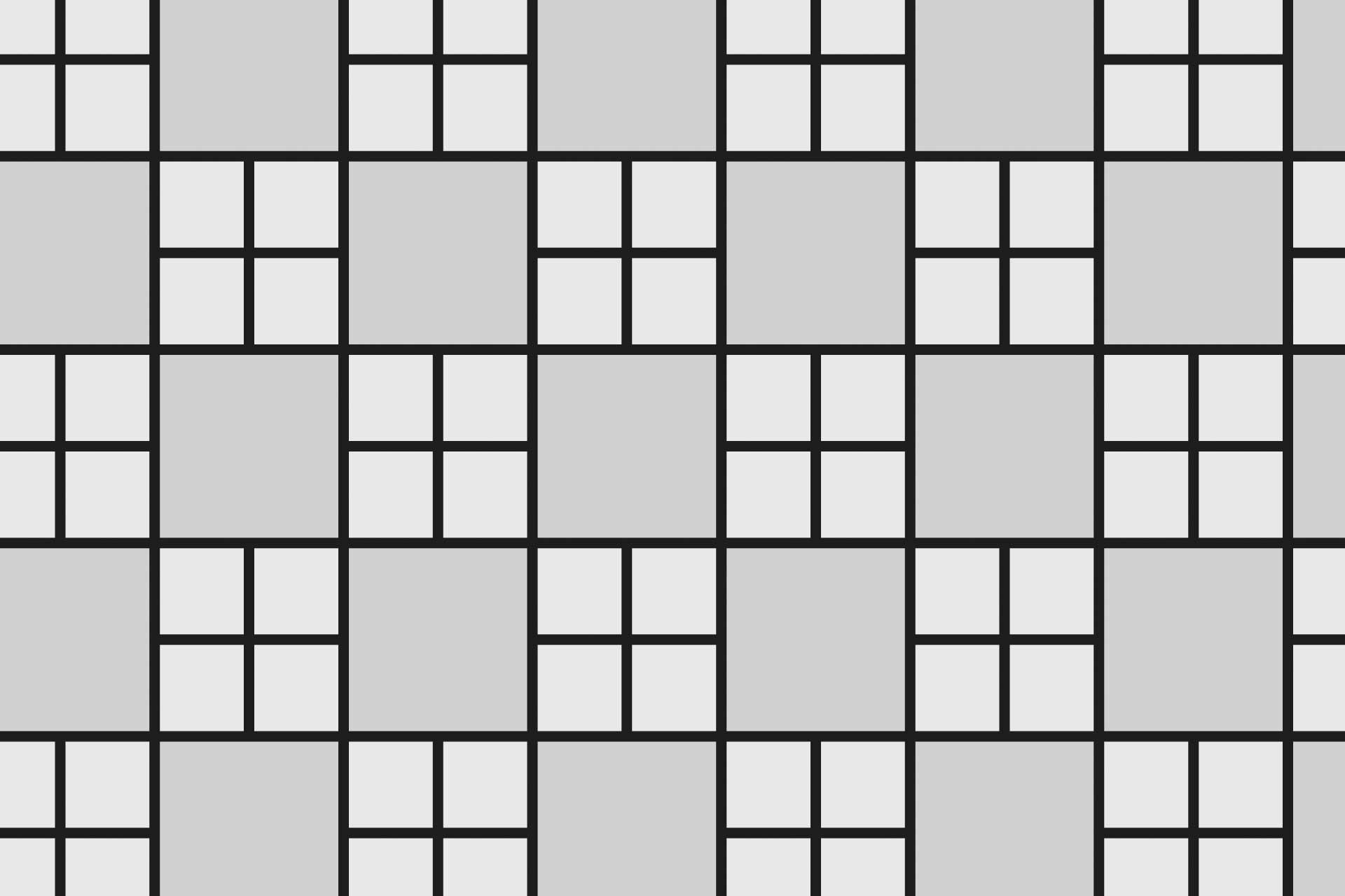 Mod amenajare Pavaj Patrat Cubic